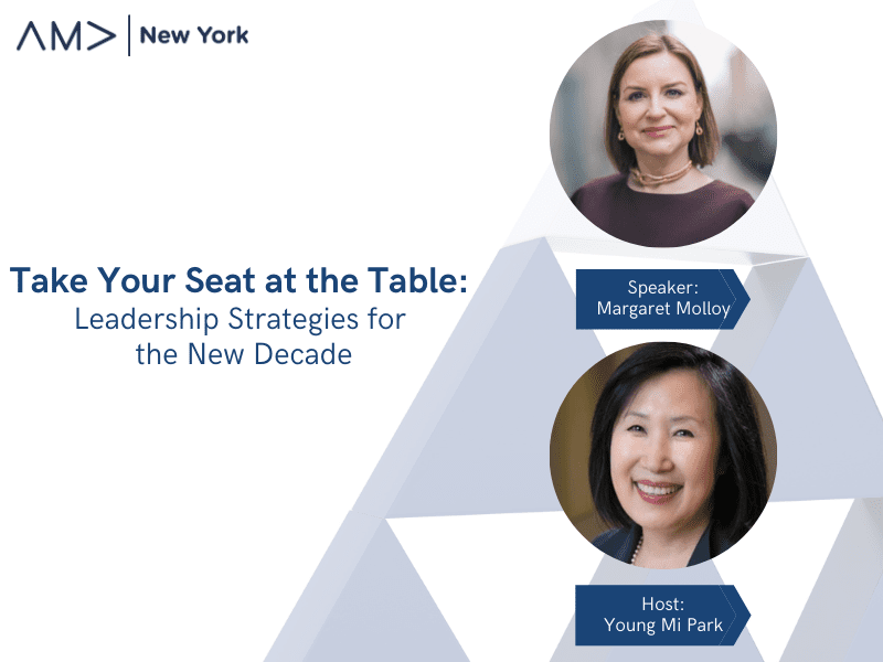 Women in Marketing Series – Take Your Seat at the Table: Leadership Strategies for the New Decade